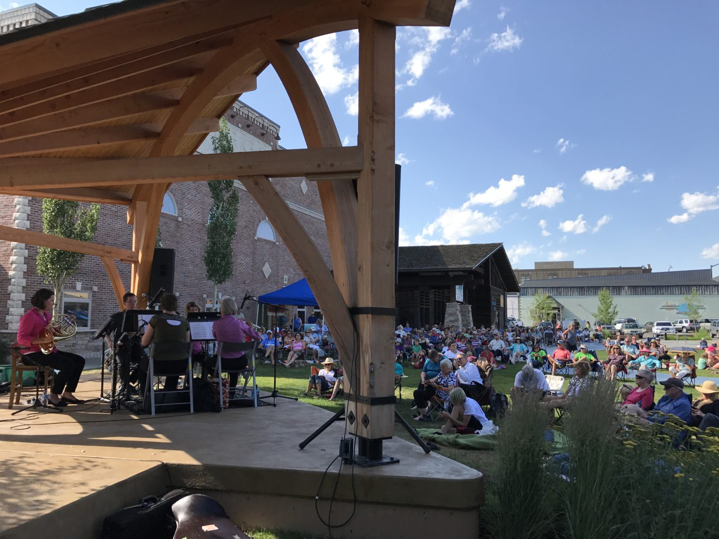 This summer the Downtown Driggs Association will once again host a series  of free classical music performances in Teton valley. The Idaho Falls  Symphony ...