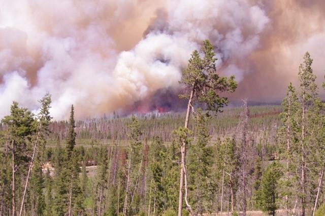 Badger Creek Fire gets nasty, Type II team on the way