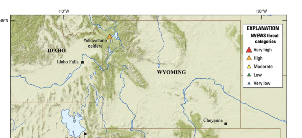 Government scientists just raised the threat level for Yellowstone on high resolution yellowstone map, nps yellowstone map, yellowstone national park wy to farmington new mexico map, yellowstone national park topo map, yellowstone np map,