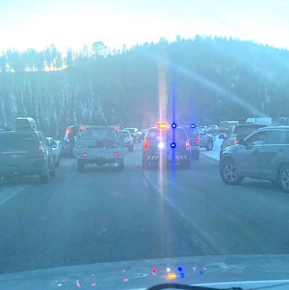 BREAKING: Crash on Rim is a bad one, Highway 191 closed
