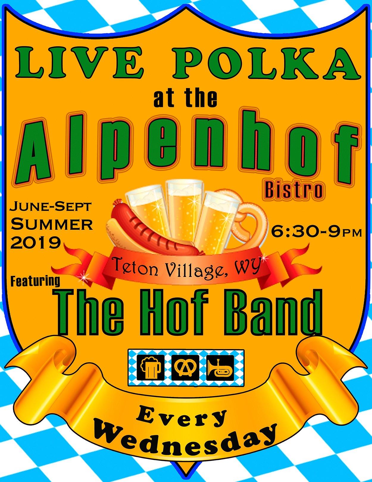 The Hof Band plays Polka - Buckrail - Jackson Hole, news